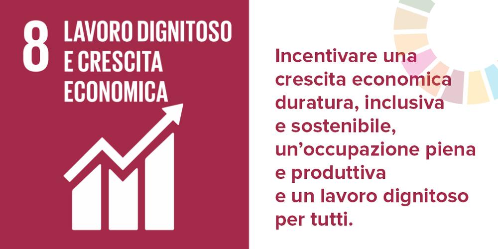 SDGs Agenda 2030: obiettivo 8